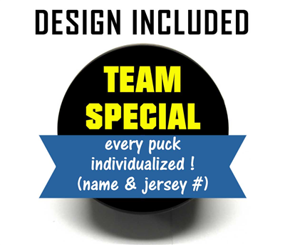 Hockey Puck (Team Special) Professionally Designed